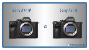 sony a7r iv vs a7 iii featured