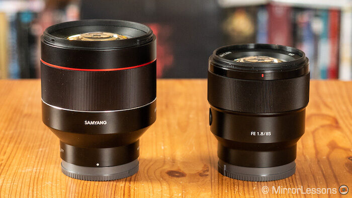 samyang 85mm 1.4 af vs sony 85mm 1.8-2