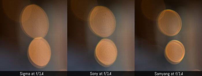 sony 35mm 1.4 bokeh