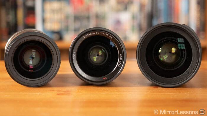 Sigma 35mm 1.2 vs Sony 35mm 1.4 vs Samyang 35mm 1.4