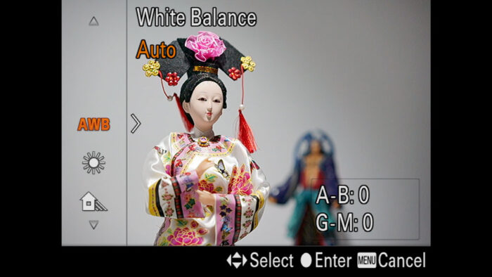 sony a7 iii white balance