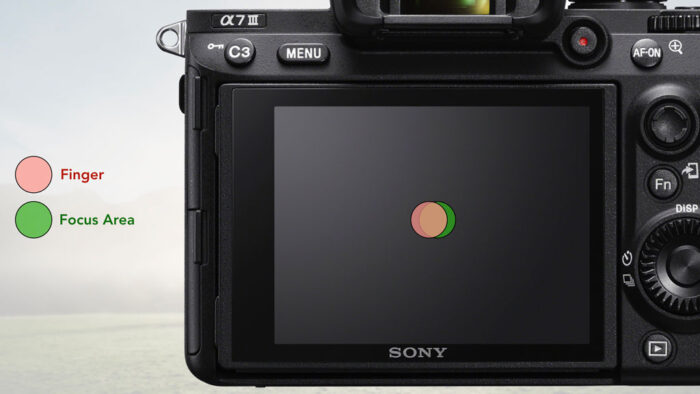 sony a7 iii touch pad