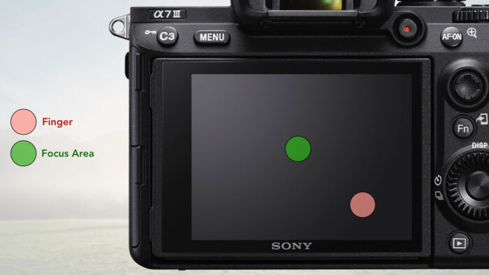 sony a7 iii touchpad settings