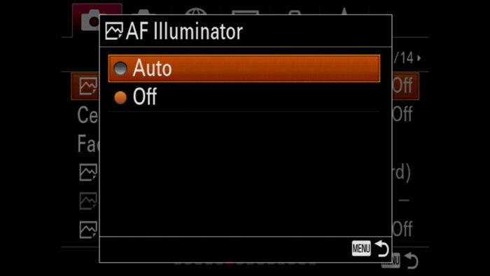 sony a7 iii low light autofocus