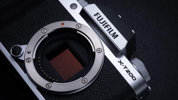 Fujifilm X-T200 sensor