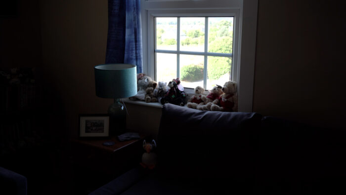 Example image taken in a living room