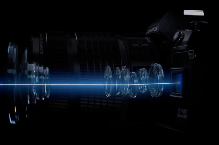 The 5-axis image stabilisation mechanism of the E-M1 III
