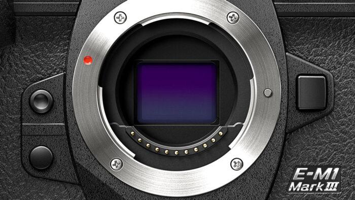 The sensor of the E-M1 III