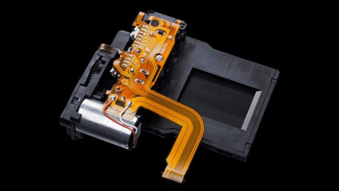 The E-M1 III shutter mechanism