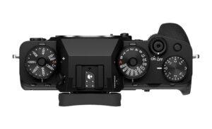 Fujifilm X-T4 top view