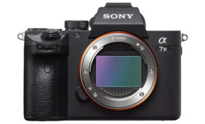 sony a7 iii front view