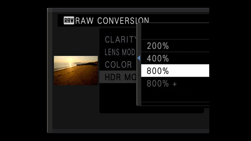 The Fujifilm RAW conversion tool