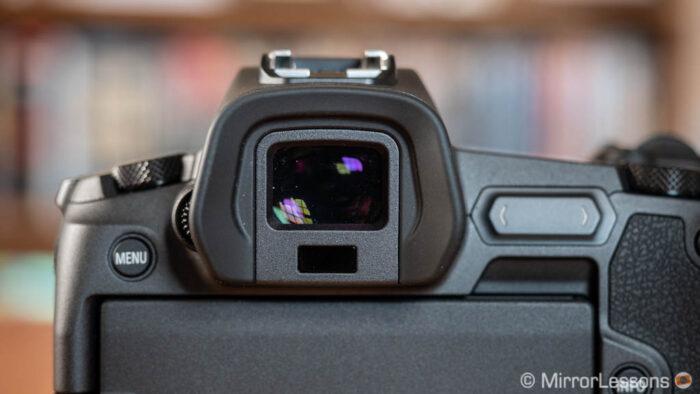 EOS R viewfinder