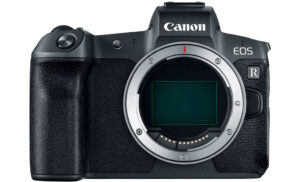 eos r front view