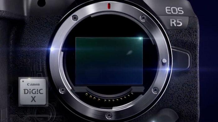 EOS R5 sensor