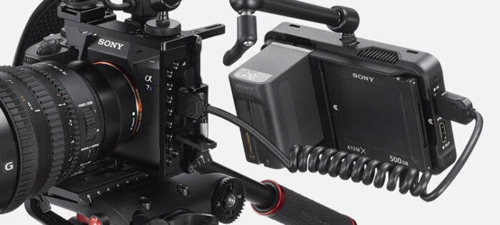 a7s 3 and atomos ninja 5 recorder