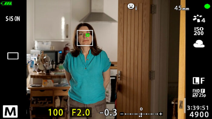 face and eye detection