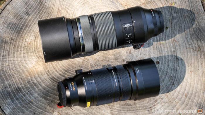 olympus 100-400mm vs panasonic 100-400mm