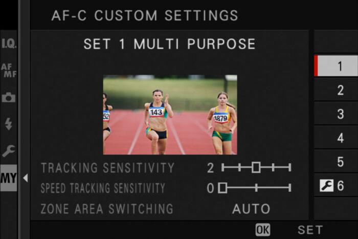 af-c custom settings