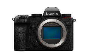 lumix s5 front view