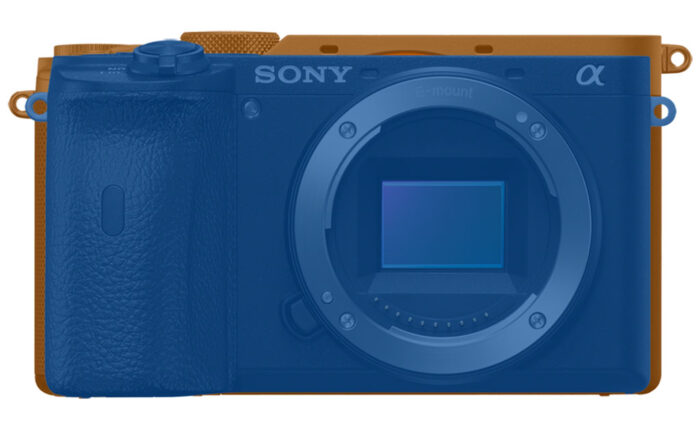 sony a7c vs a6600 size front view