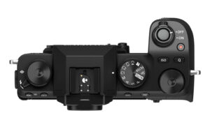 X-S10 top view