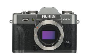 fuji XT30 front view