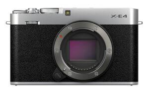 X-E4 front view