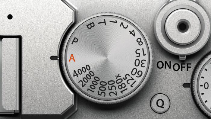 X-E4 shutter speed dial