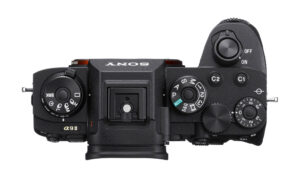 sony a9 2 top view