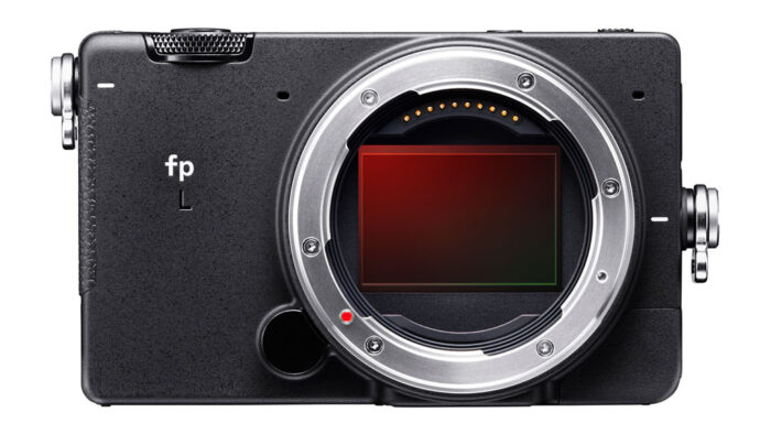 sigma fp l, front view without sensor cap