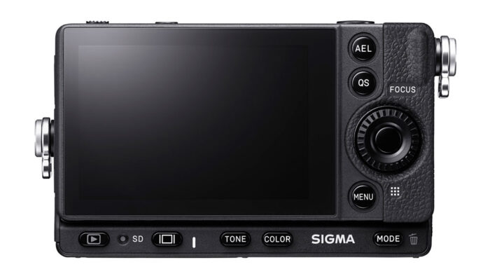 rear view of the sigma FP L