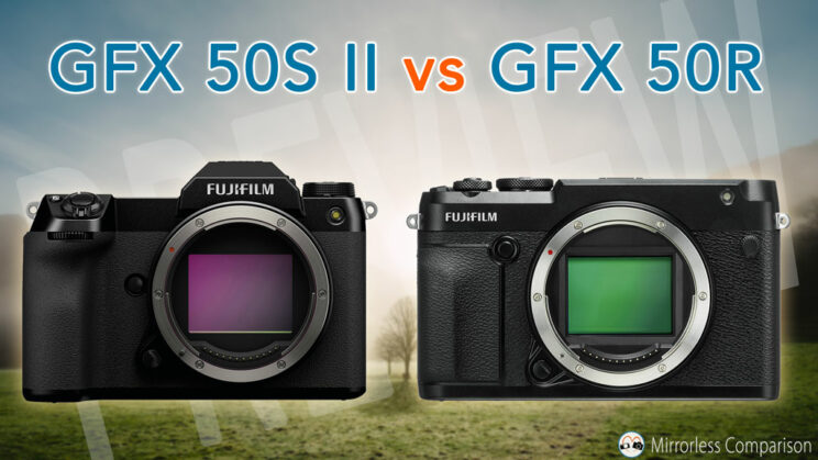 cover image with GFX 50S II and 50R side by side and title