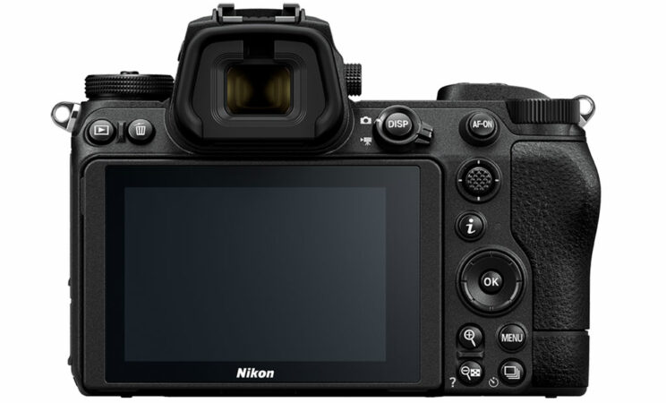Nikon Z6 II rear view