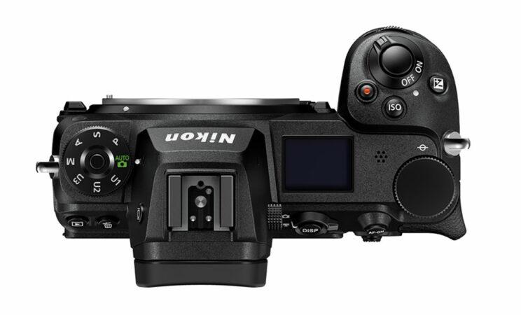 Nikon Z6 II top view