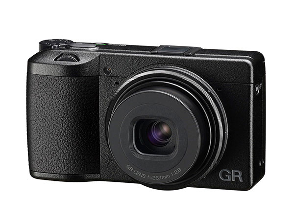Ricoh GR IIIx on white background